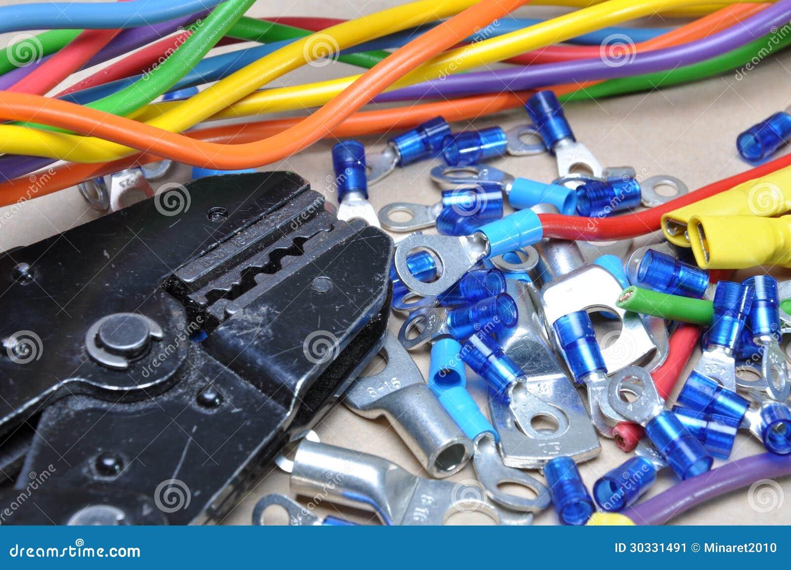 卷曲工具和缆绳终端