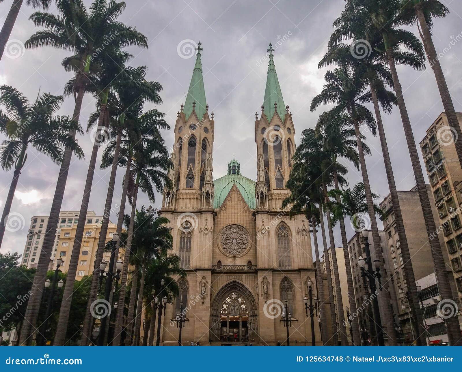 历史大厦在São保罗,巴西一个重要区域