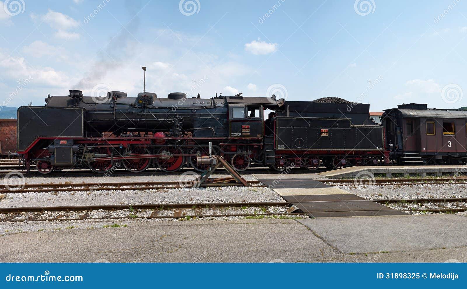 历史德国蒸汽火车06-018