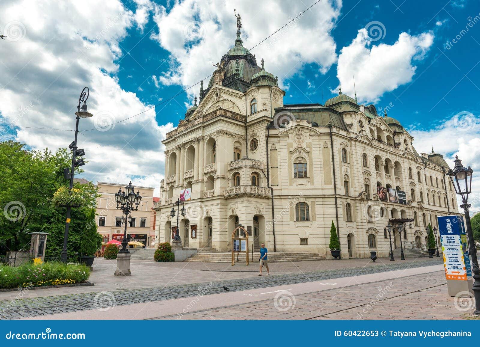 历史的市中心在科希策,斯洛伐克