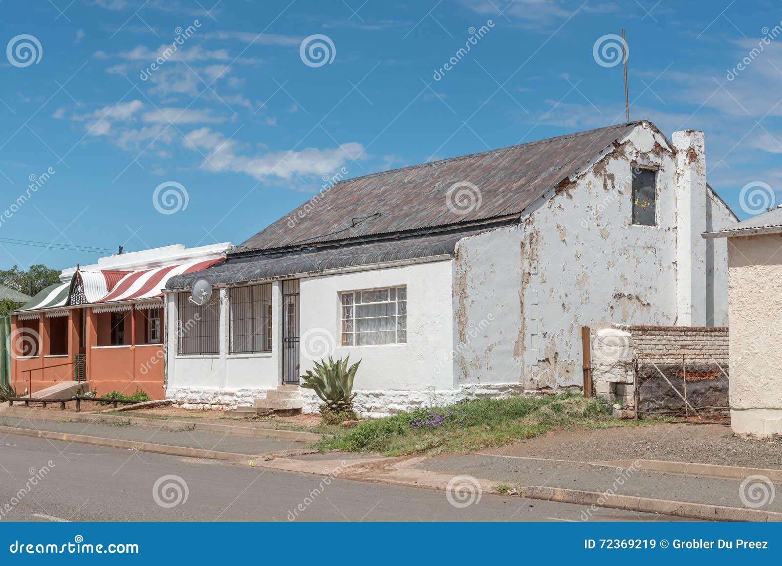 历史的老房子在Hofmeyer