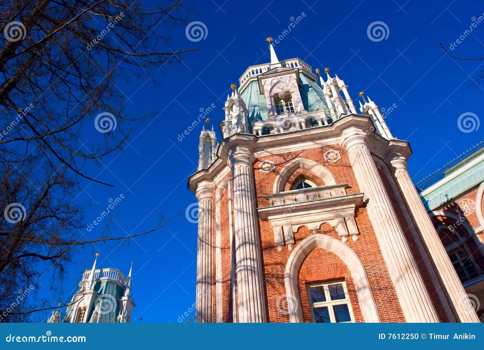 历史莫斯科老宫殿