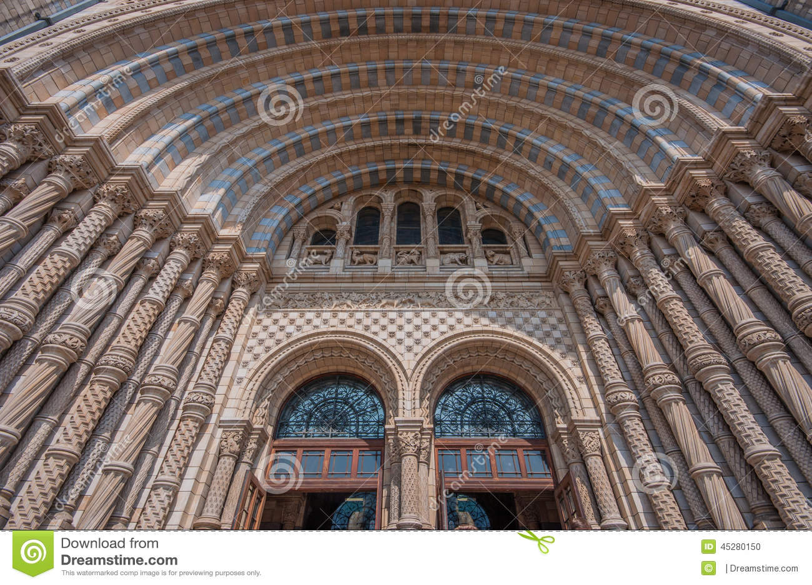 历史记录自然伦敦的博物馆