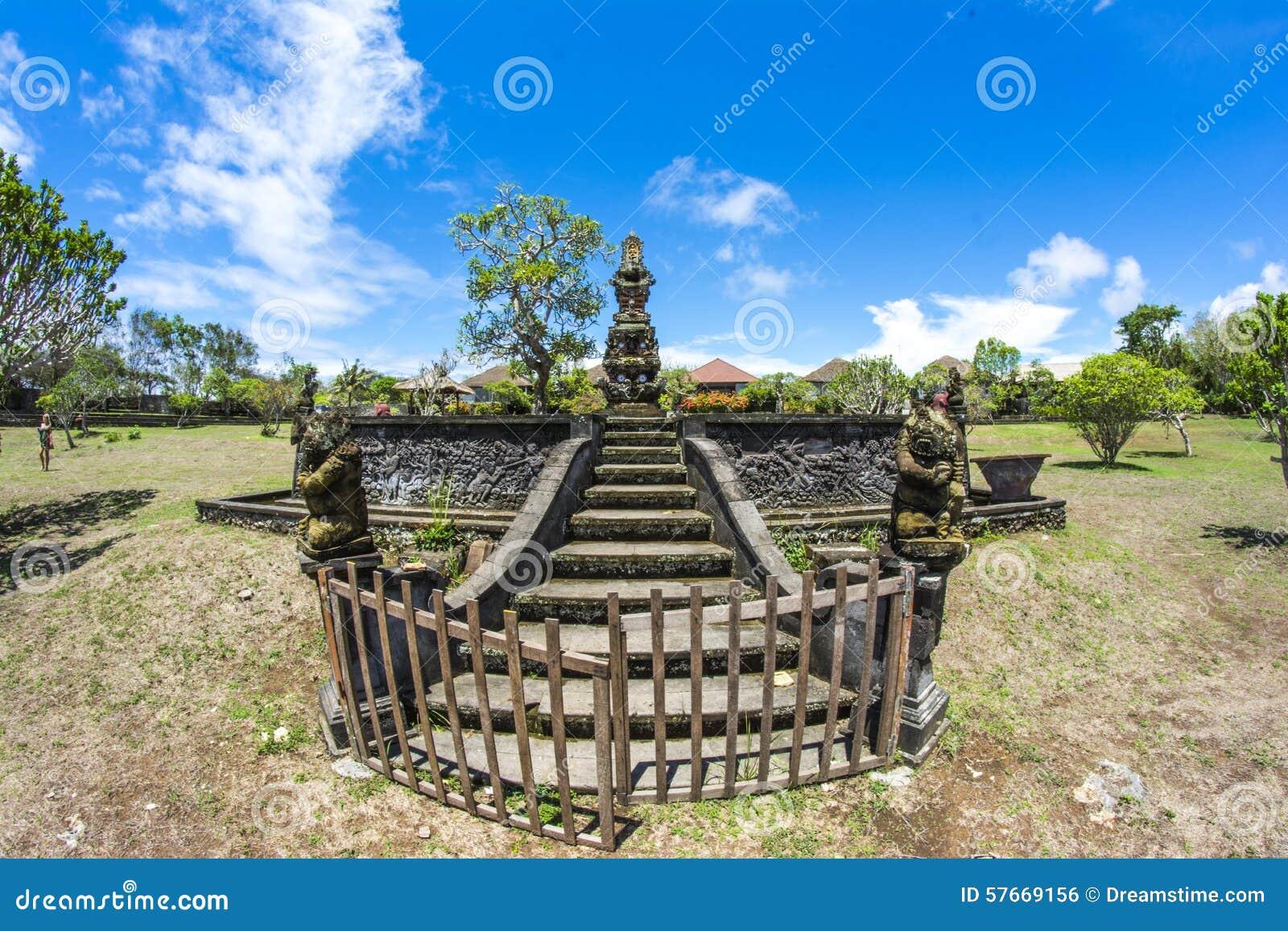 巴厘岛印度尼西亚批次tanah寺庙