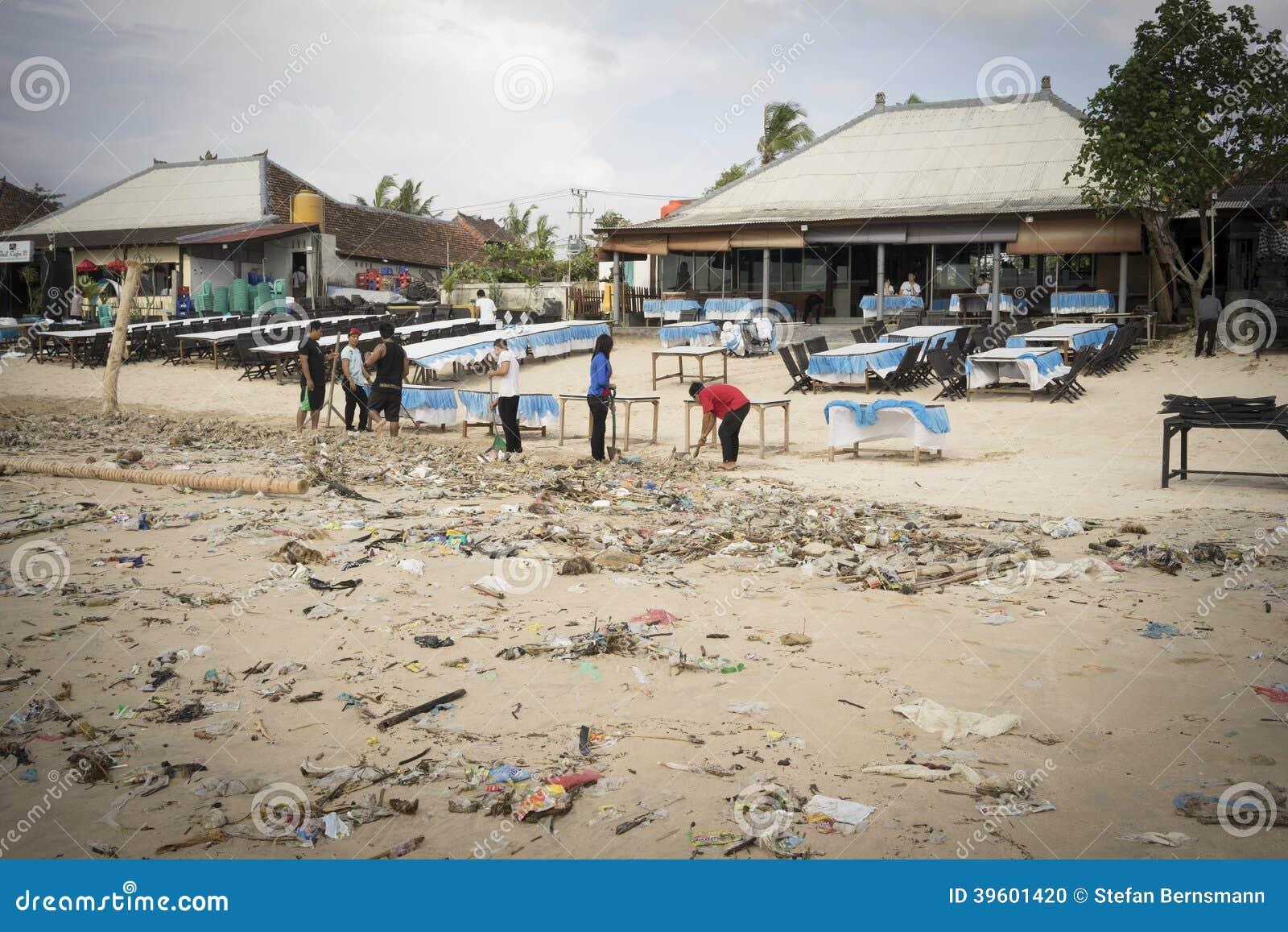 巴厘岛-污染
