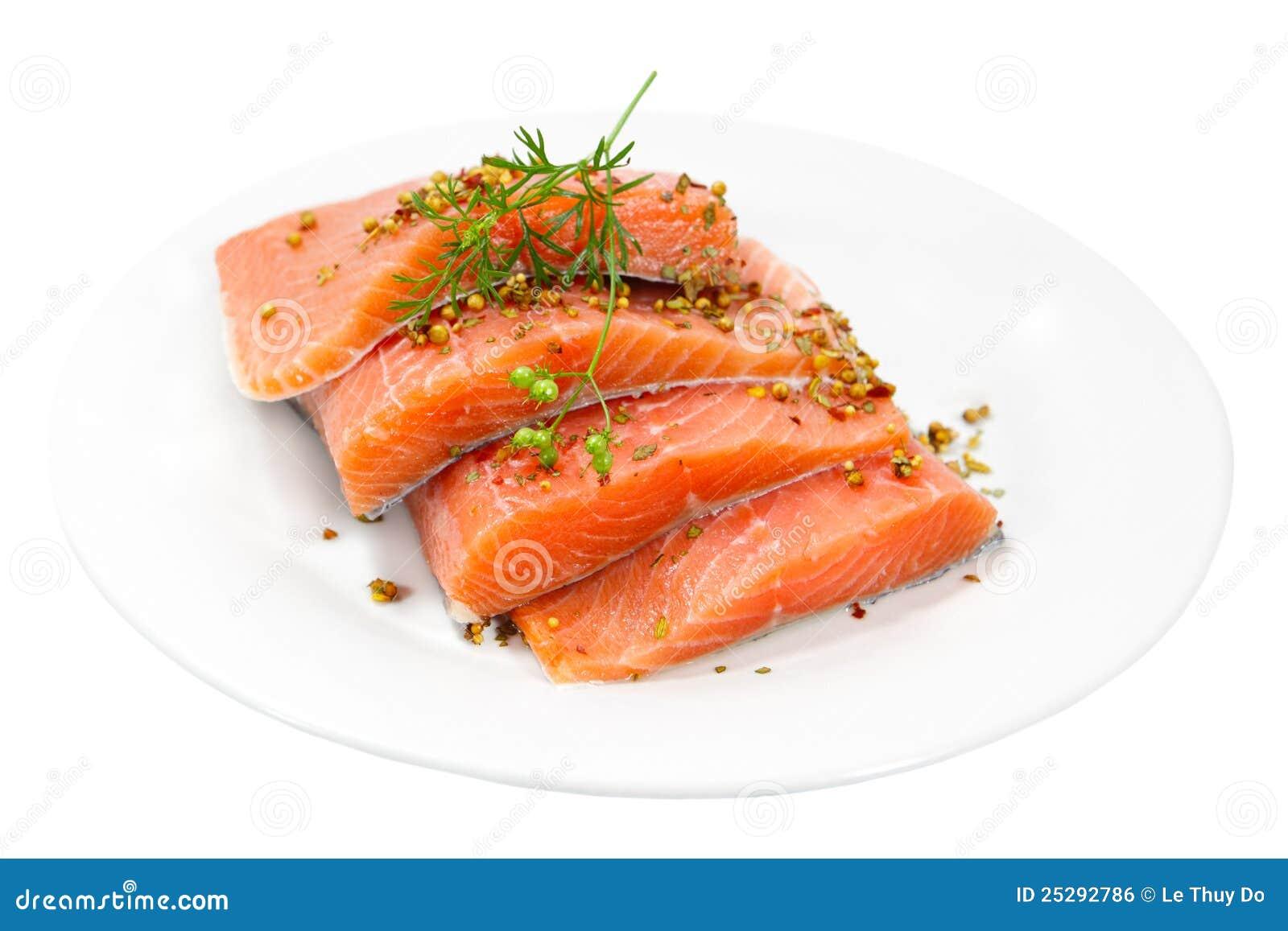 原始的三文鱼