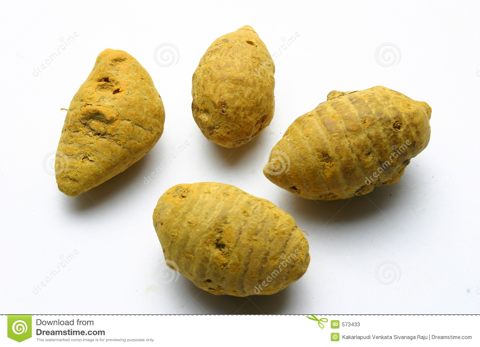 原始的姜黄