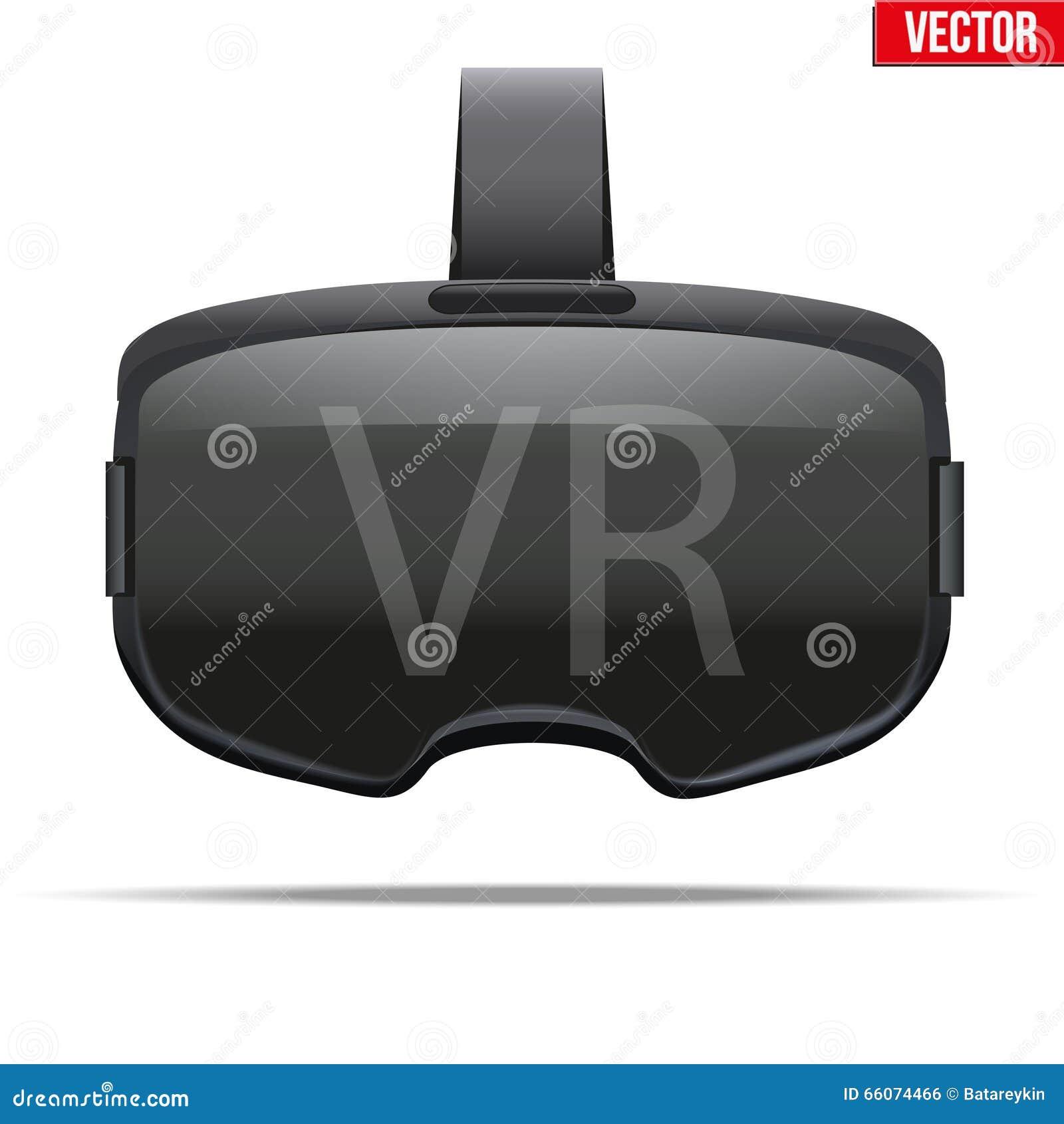 原始的立体镜3d VR耳机