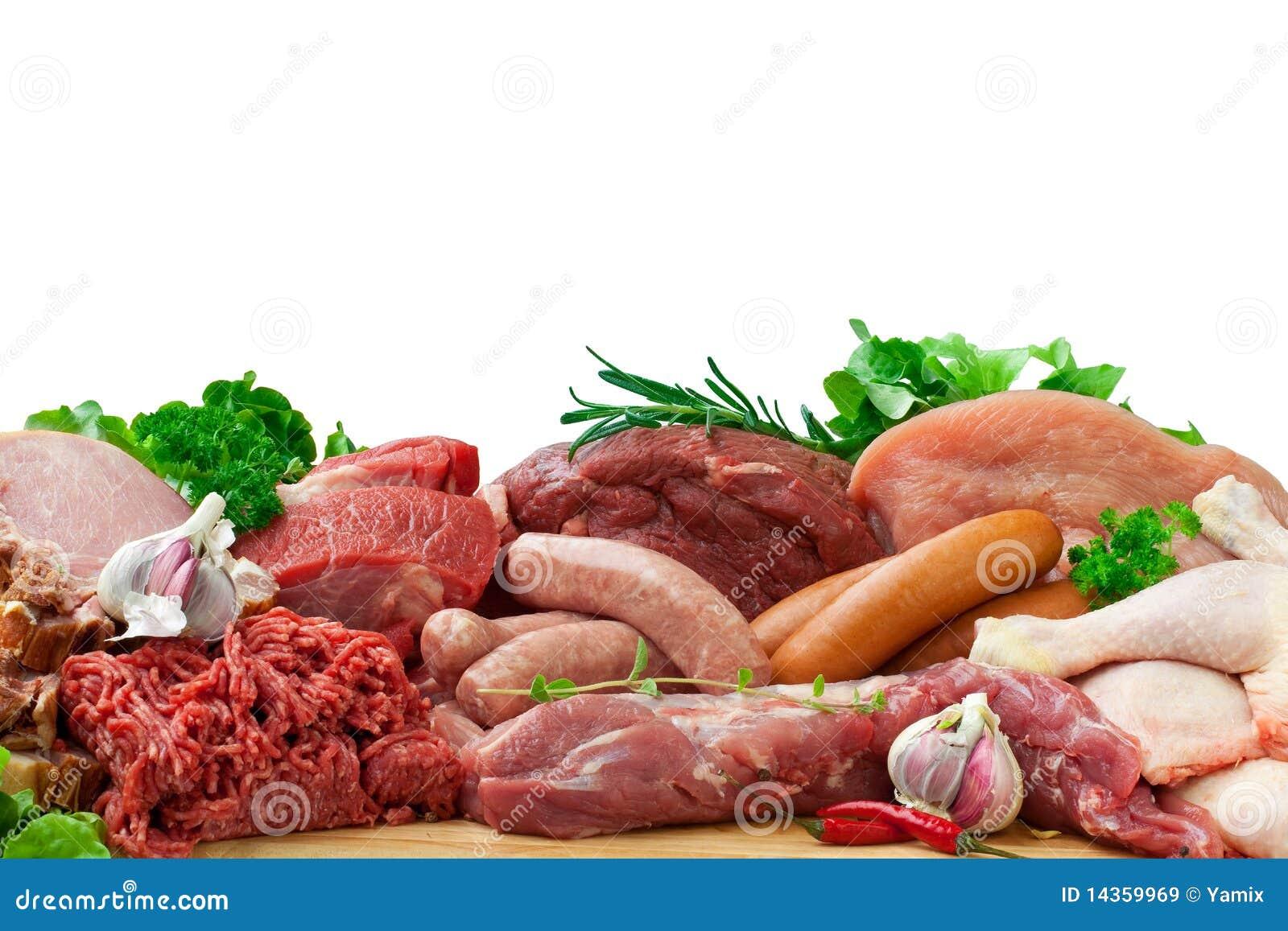 原始被分类的肉