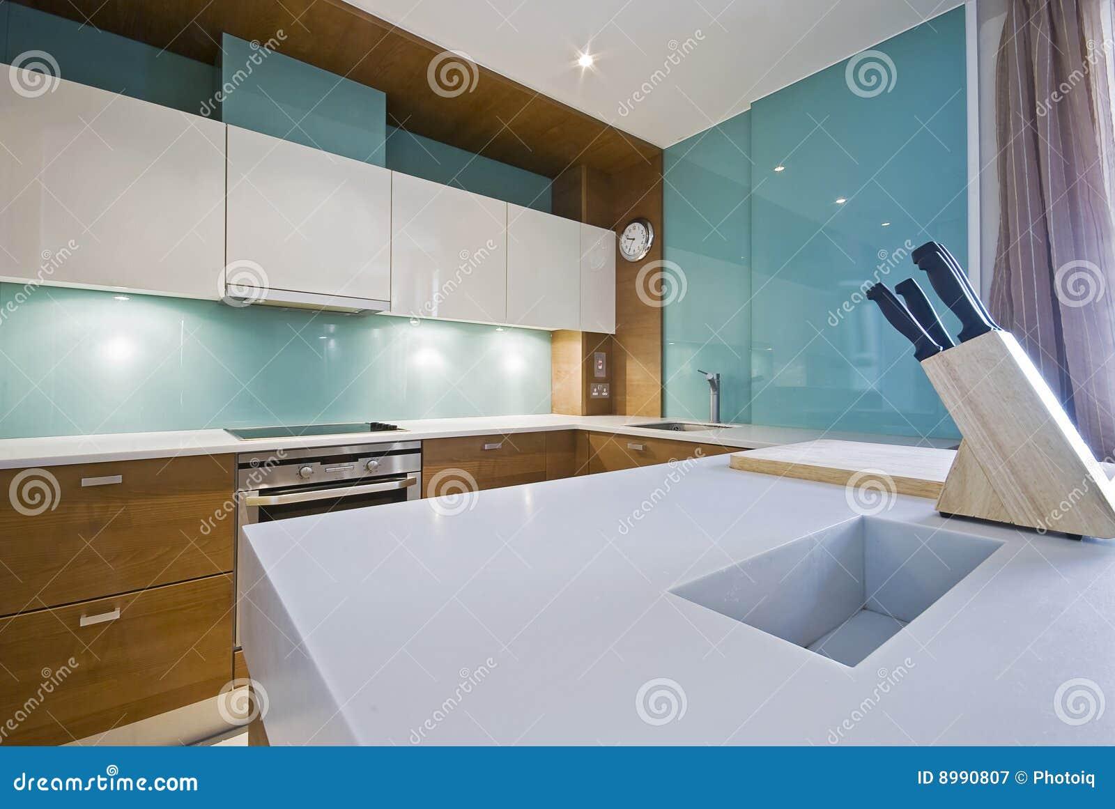 厨房现代空白worktop