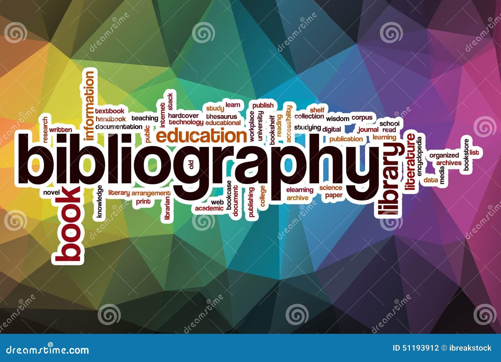 参考书目词云彩有抽象背景