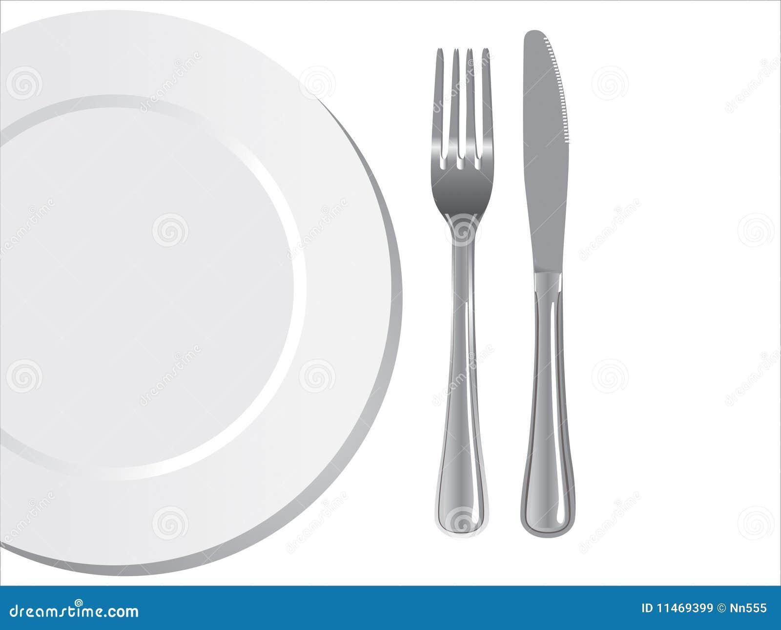 叉子刀子牌照