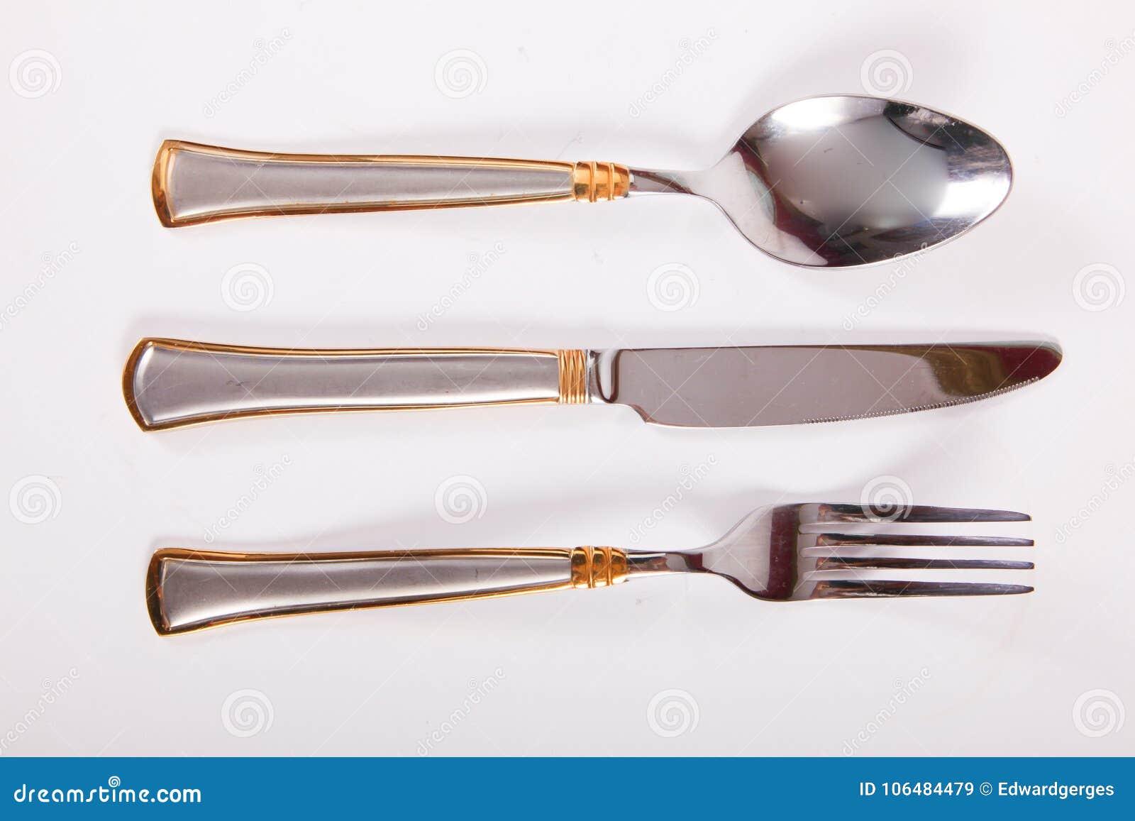 叉子厨刀匙子三器物