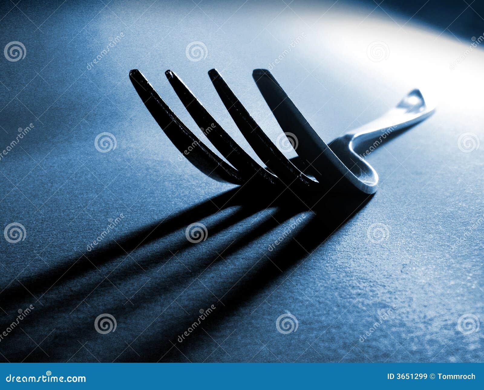 叉子影子尖叉