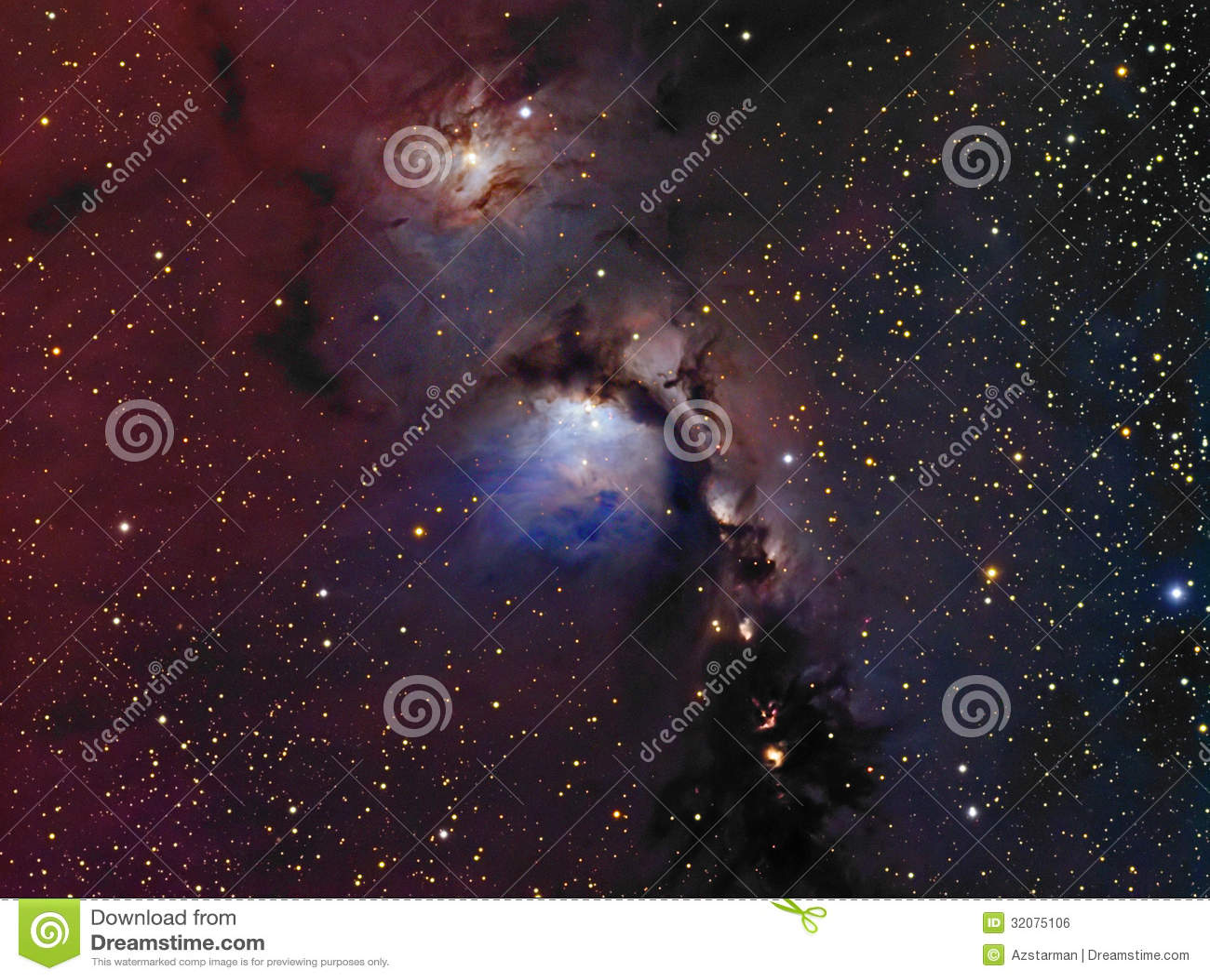 反射星云M78