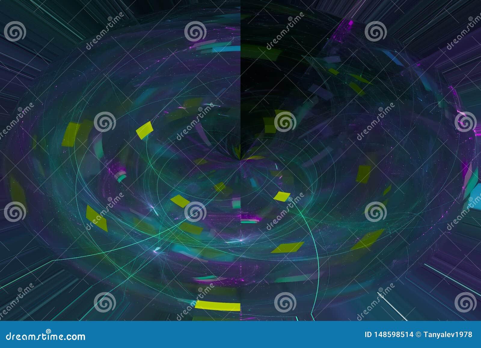 发光回报波斯菊科学样式纹理背景飞溅力量幻想爆炸设计飞溅,闪闪发光
