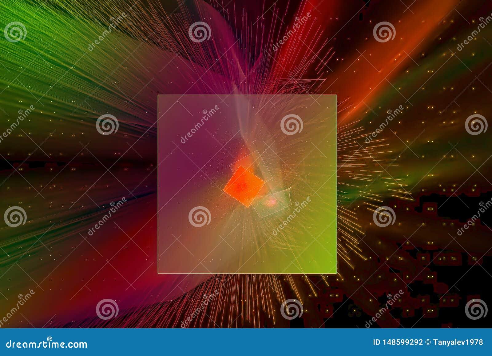 发光的波斯菊未来派爆炸爆炸科学波浪样式飞溅力量幻想爆炸设计飞溅,闪闪发光