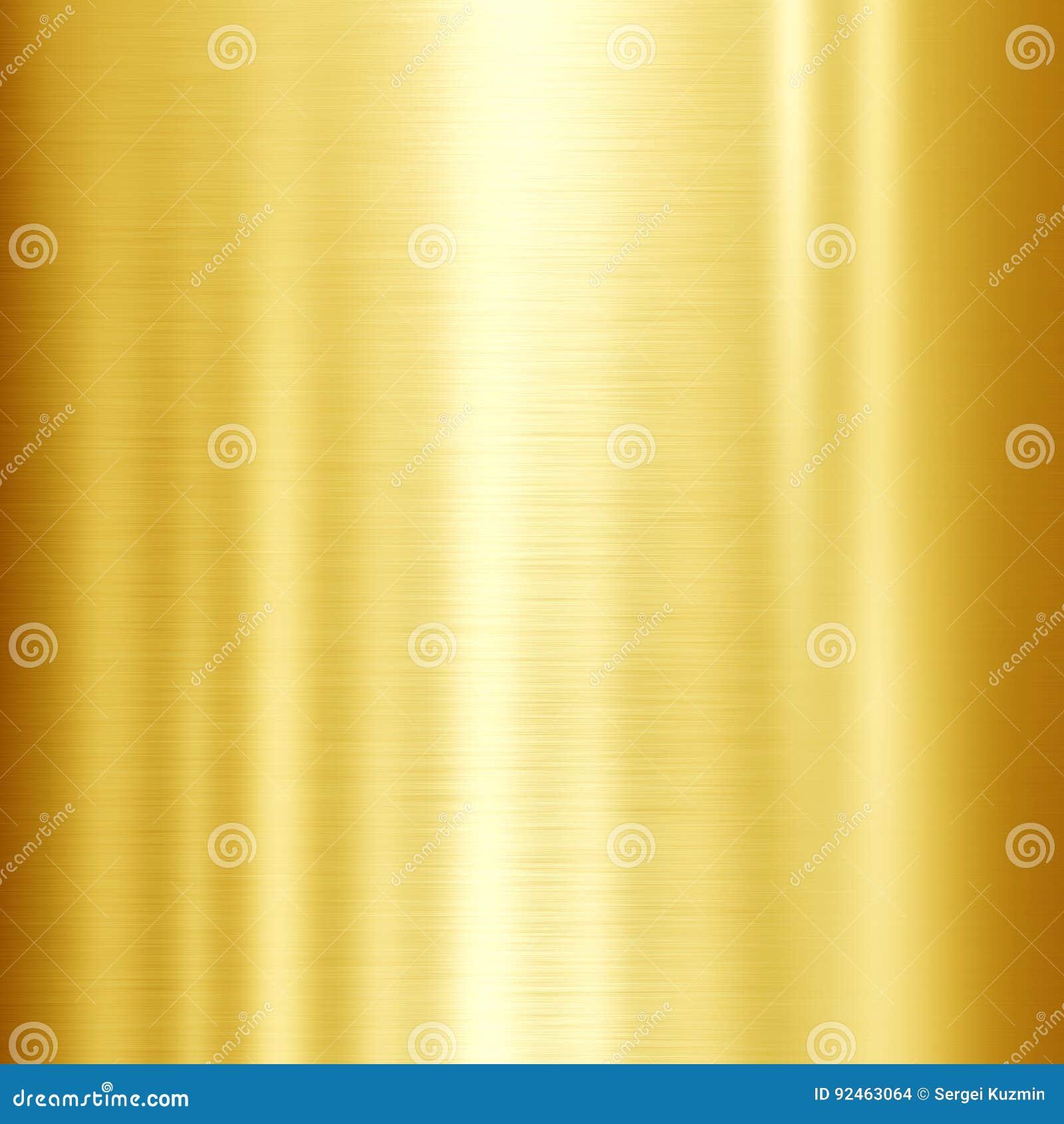 发光的金金属纹理背景