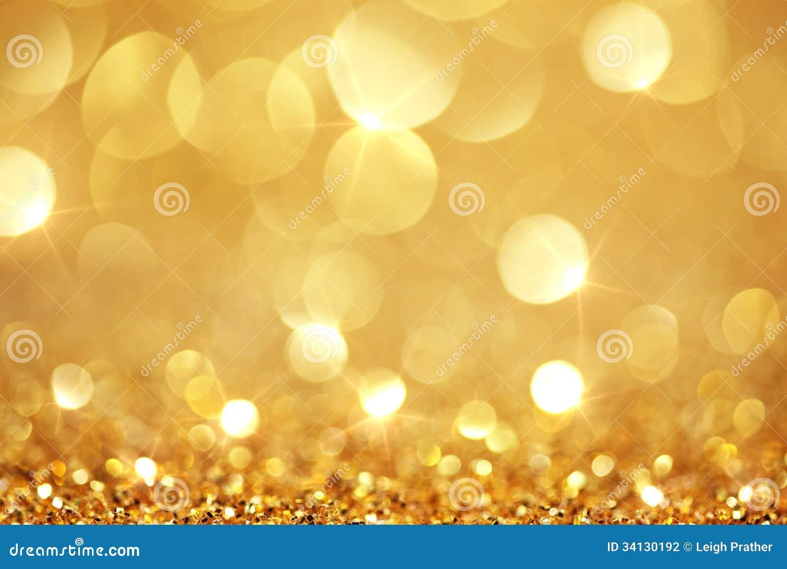 发光的金黄光