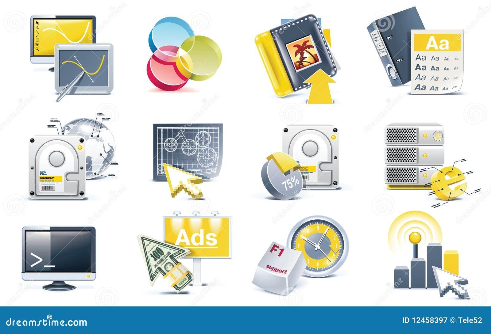发展图标集合向量网站