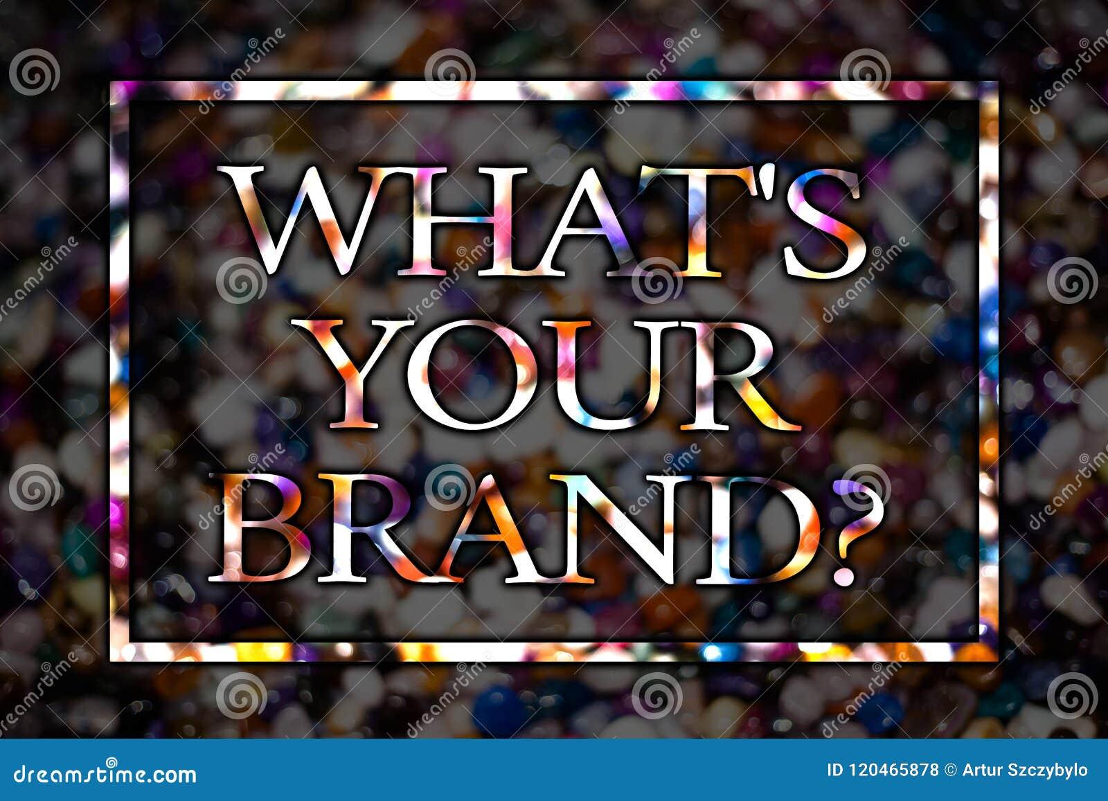 发短信给标志陈列什么S您的品牌问题 概念性照片询问口号或商标广告营销视图卡片messag