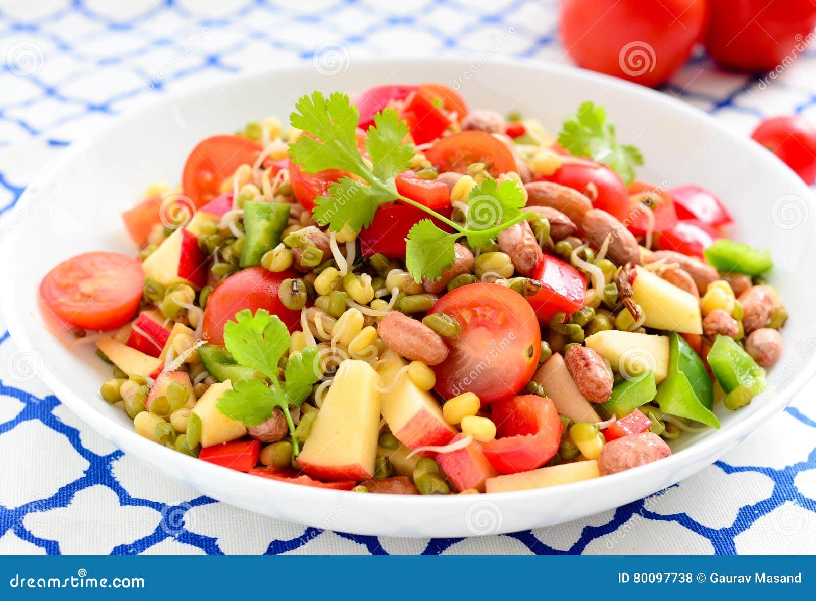 发芽沙拉绿豆/绿色克