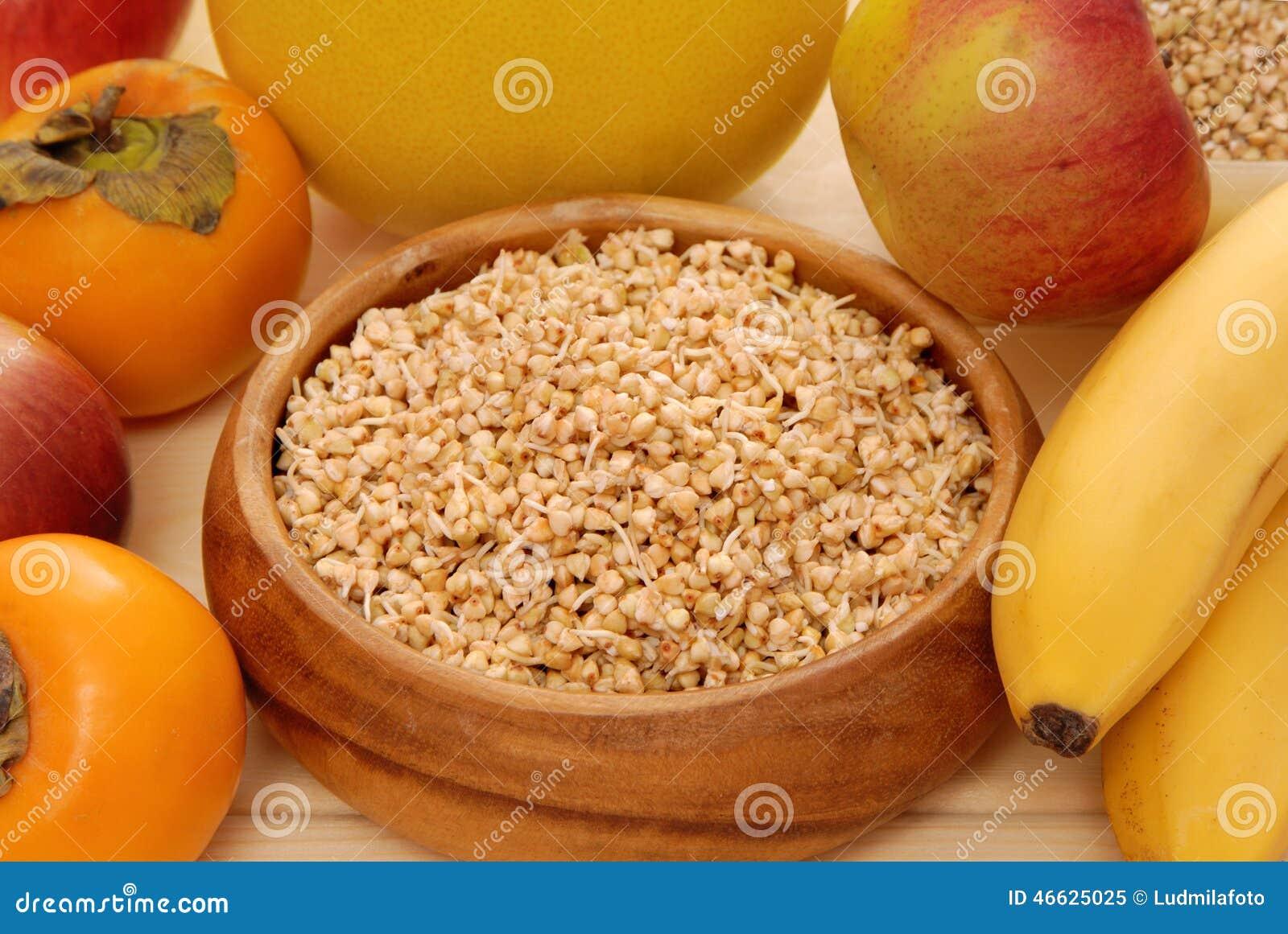 发芽的仁和果子