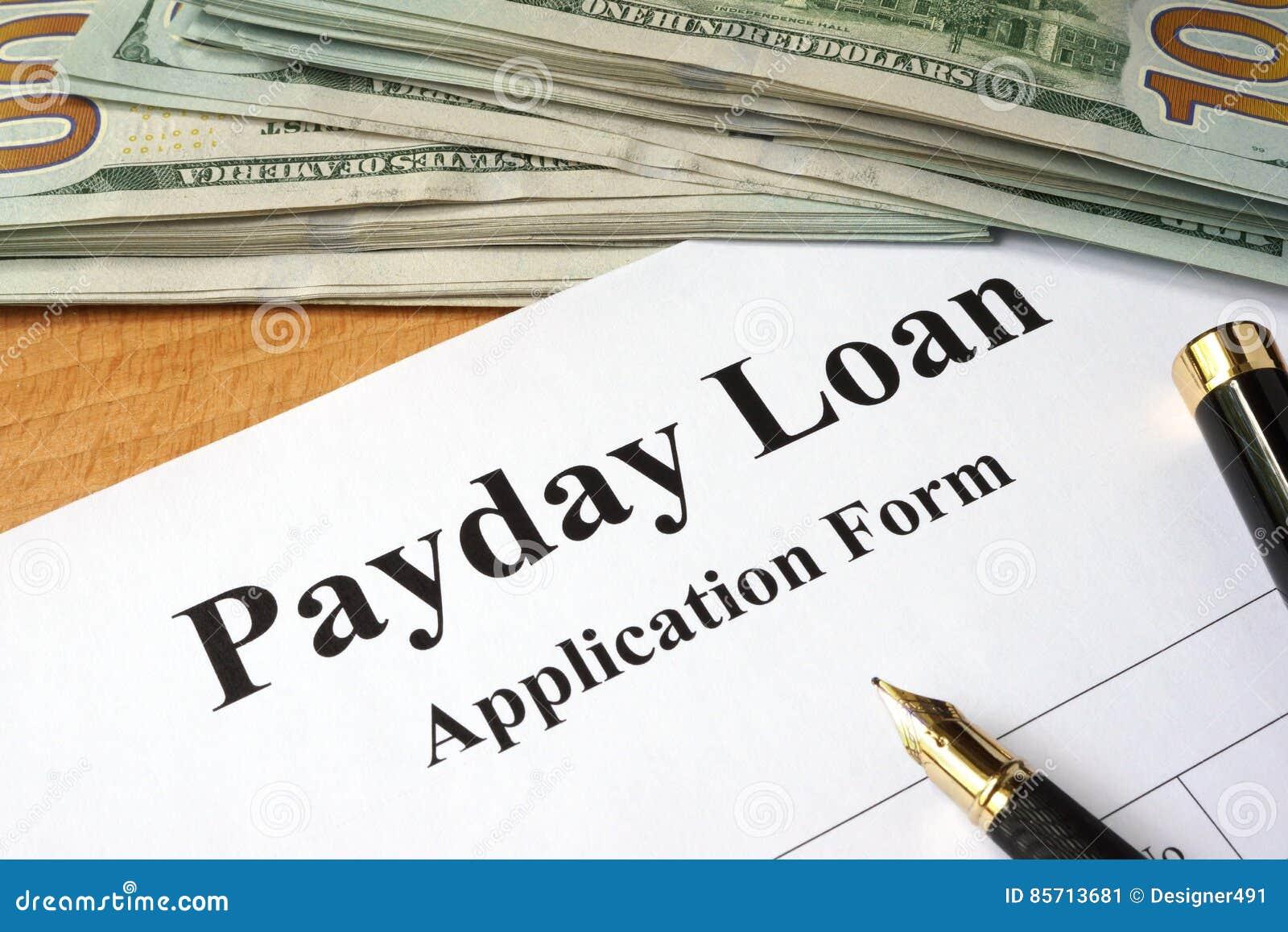 发薪日贷款形式