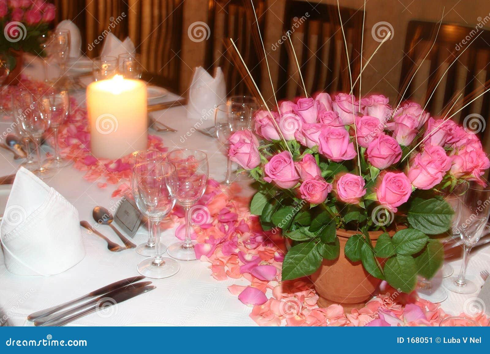 变粉红色玫瑰色设置表