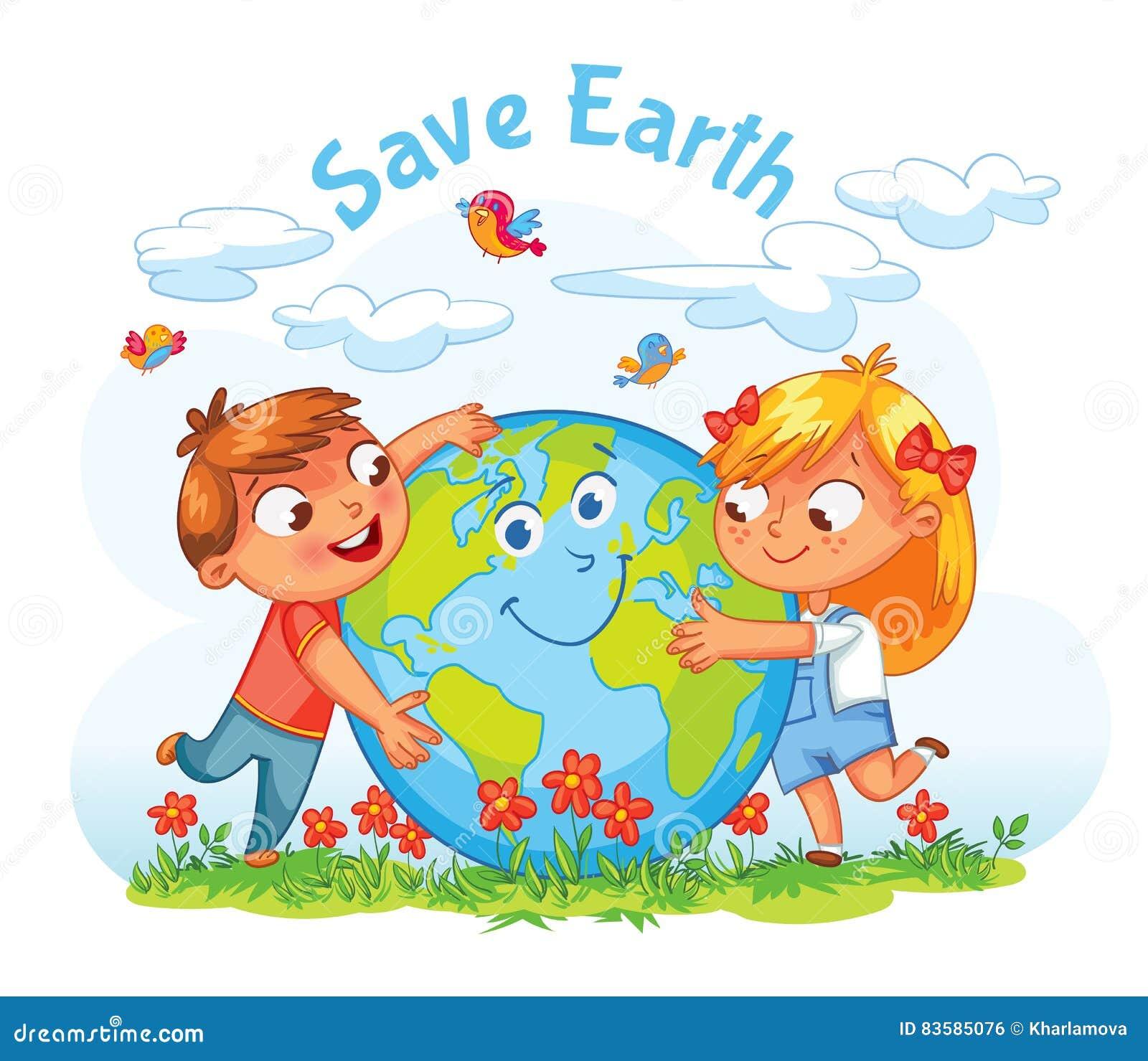 变褐环境叶子去去的绿色拥抱本质说明说法口号文本结构树的包括的日地球 拥抱地球的男孩和女孩