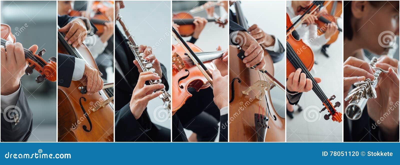 古典音乐拼贴画