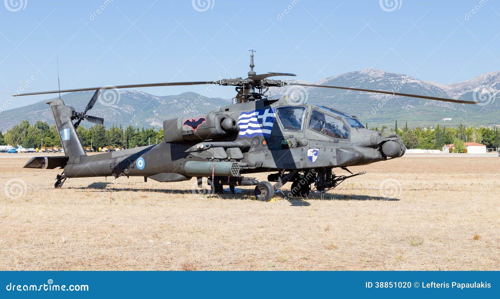 古希腊军队AH-64A亚帕基攻击用直升机