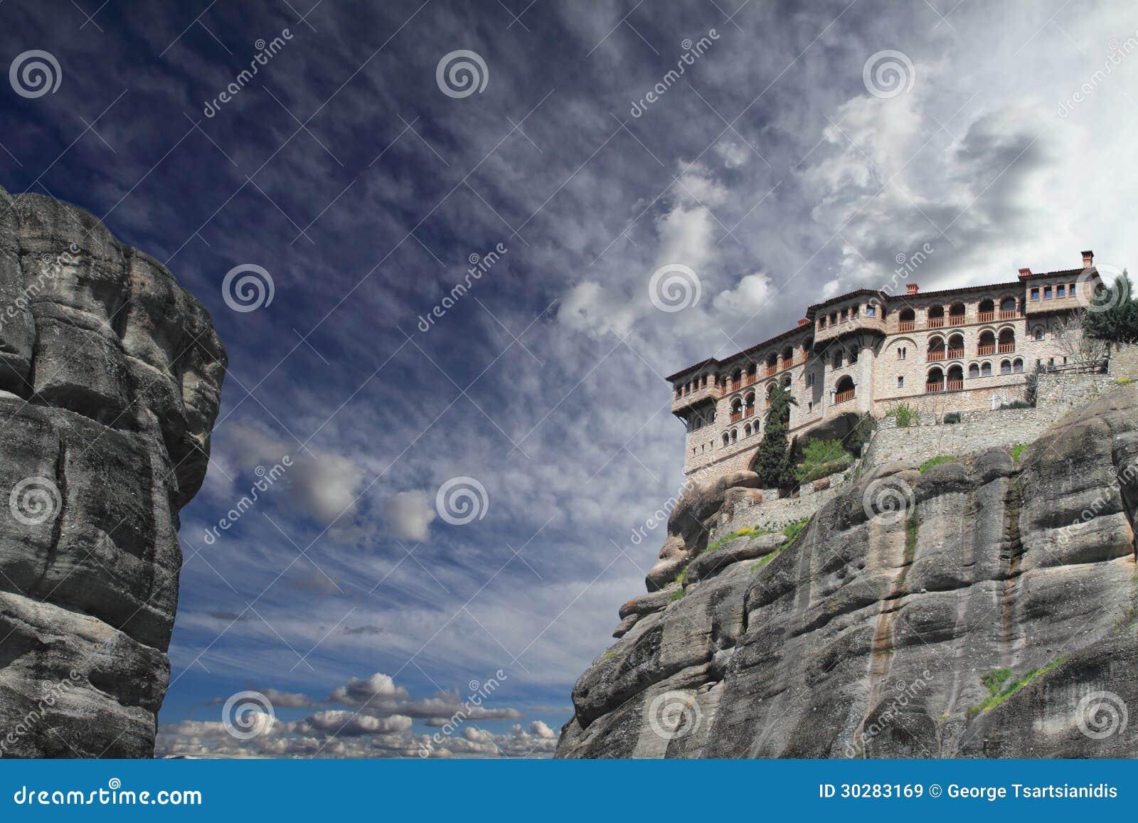 古老修道院在Meteora