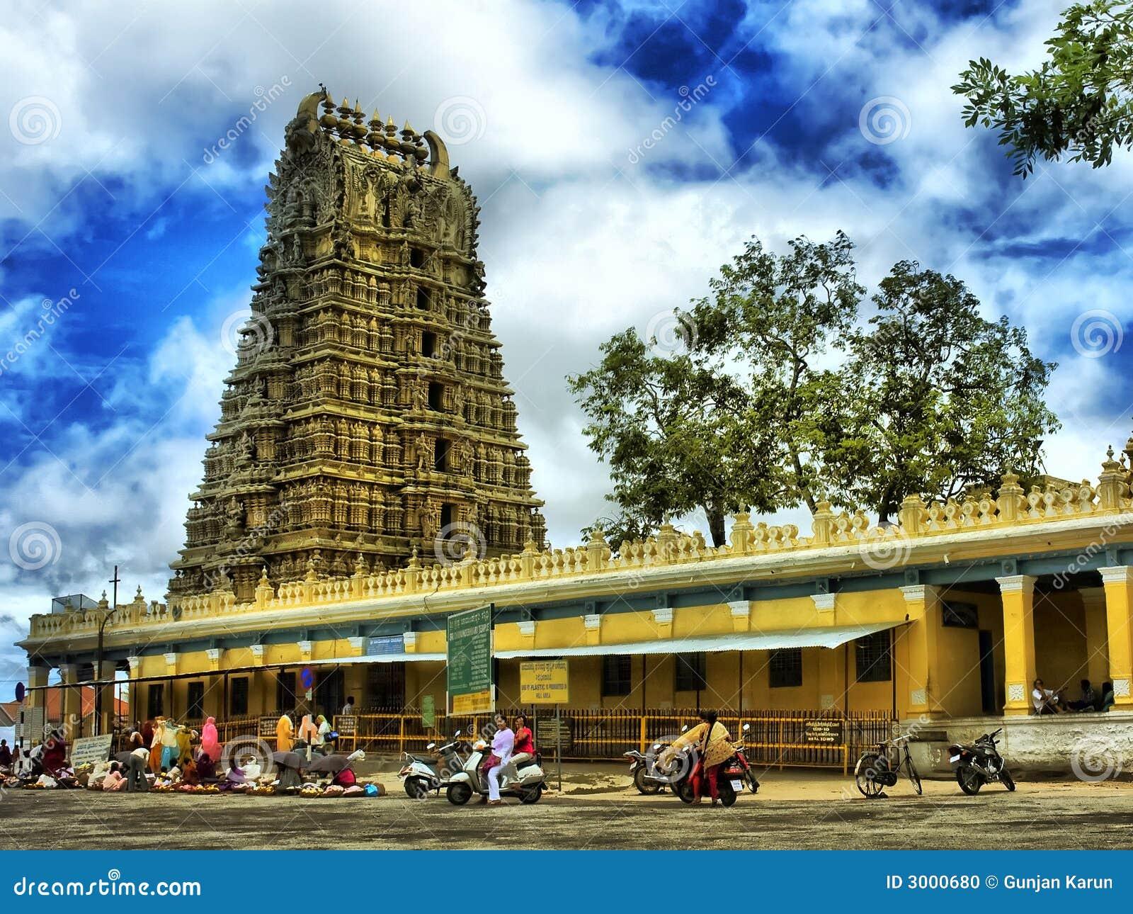 古老印度寺庙