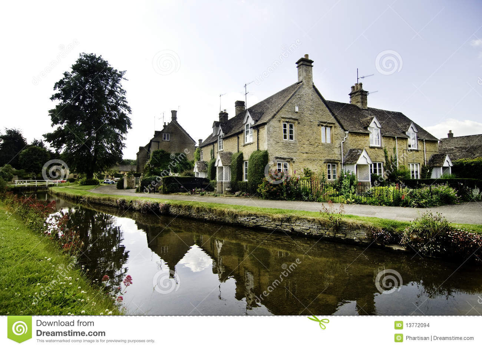古老国家(地区)英国古雅城镇村庄