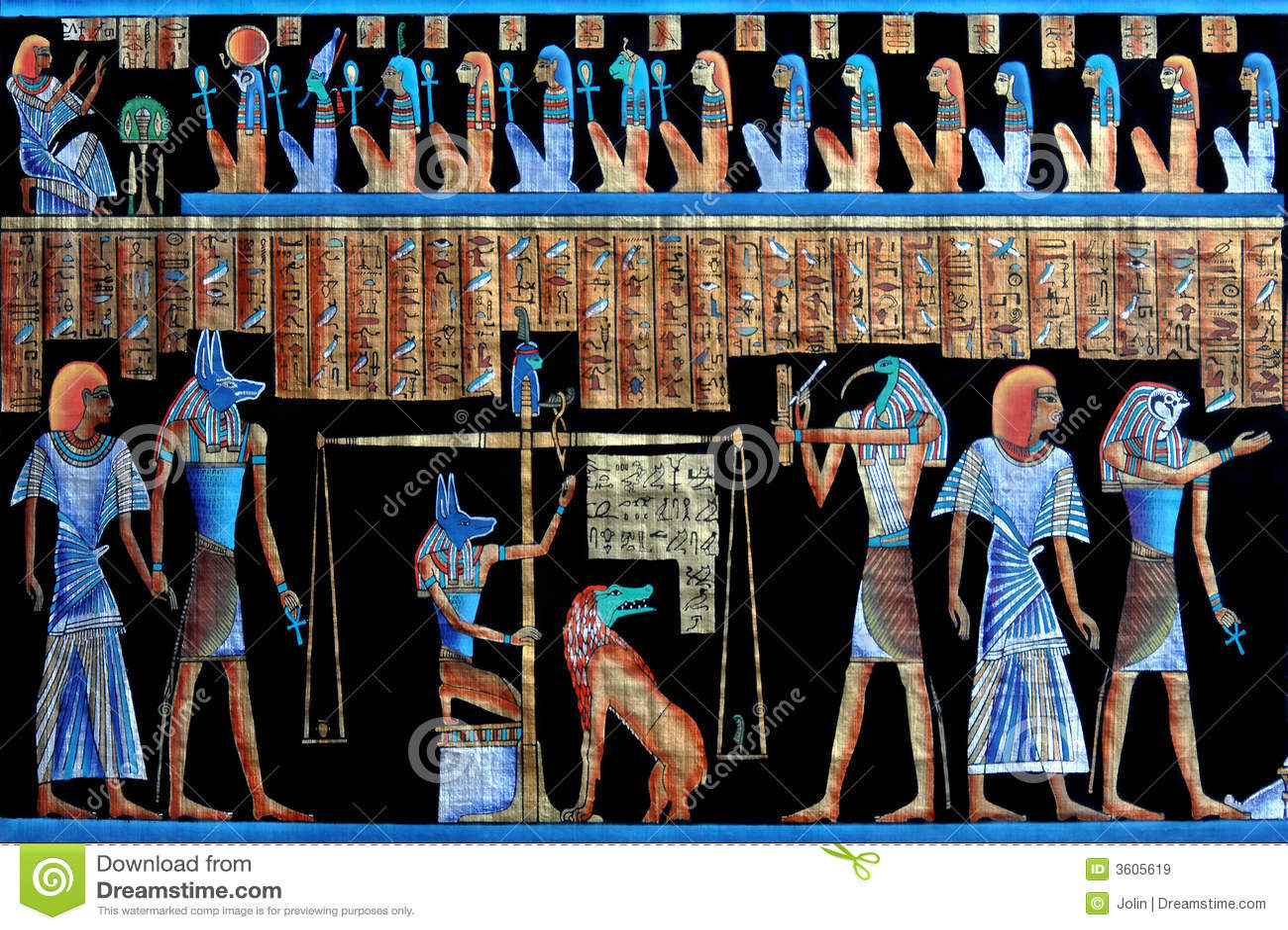 古老埃及纸莎草