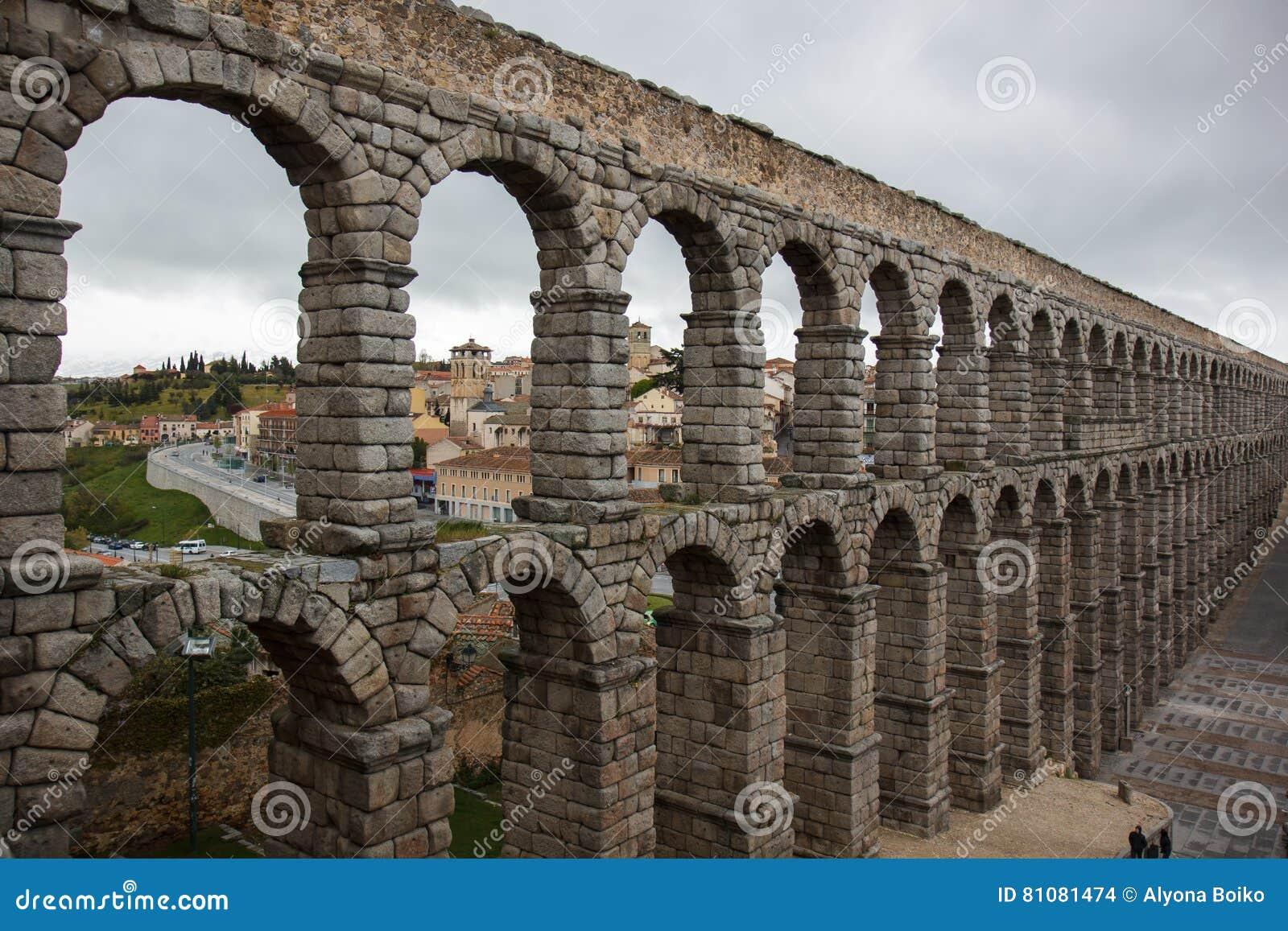 古老渡槽 Segovia,西班牙