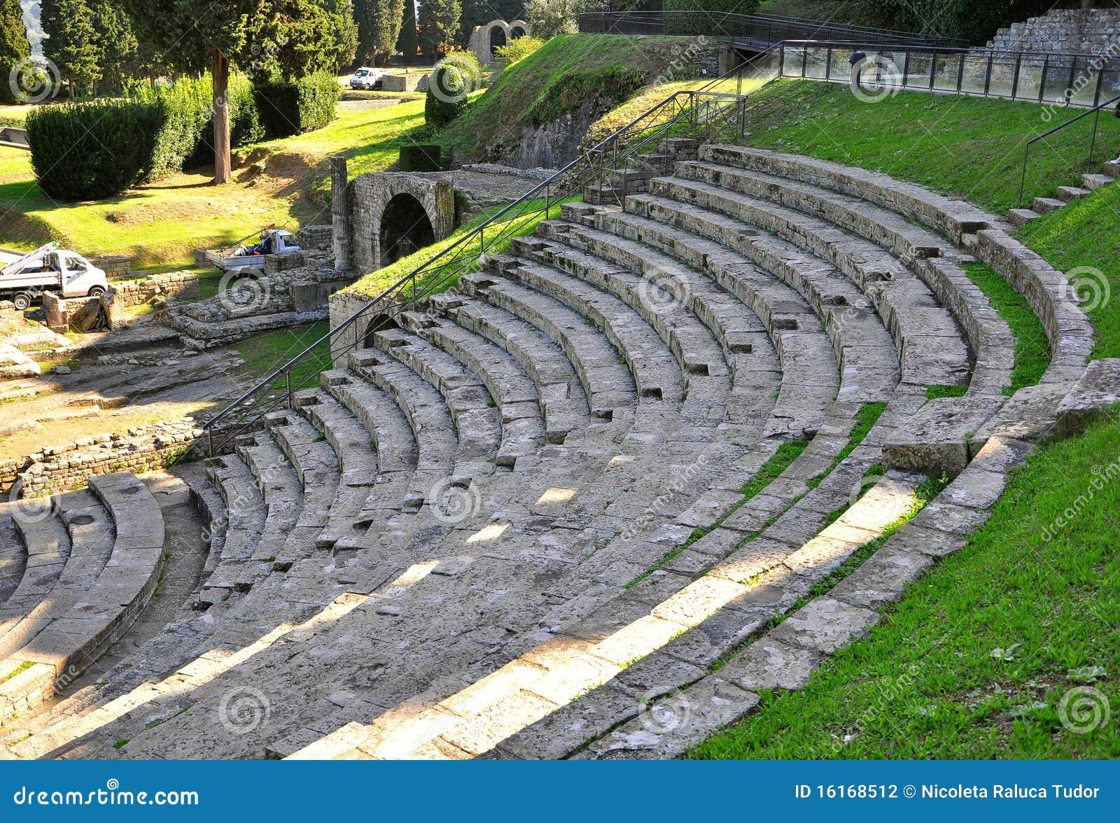 古老的圆形露天剧场