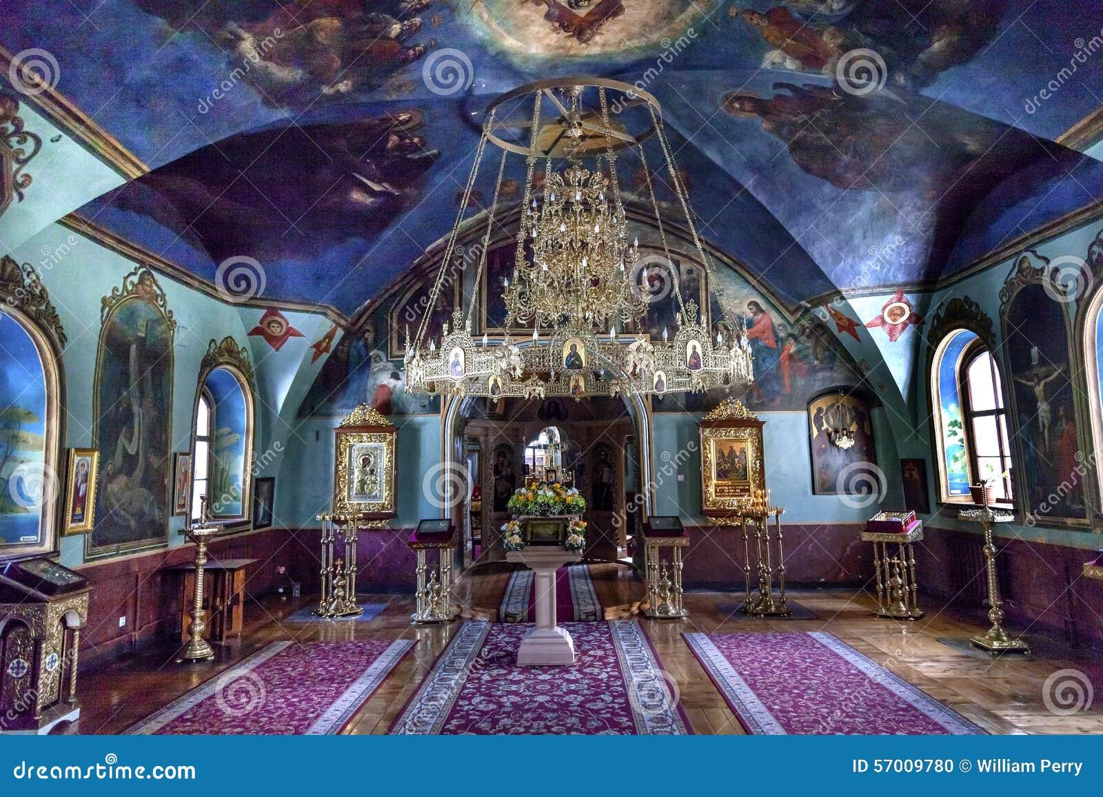 古老神父寓所圣迈克尔Vydubytsky修道院基辅乌克兰