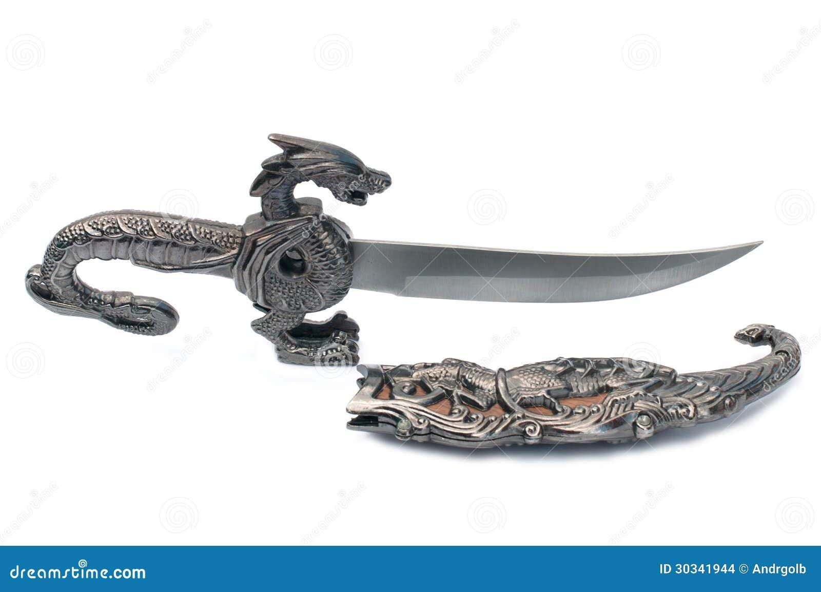古老纪念品匕首