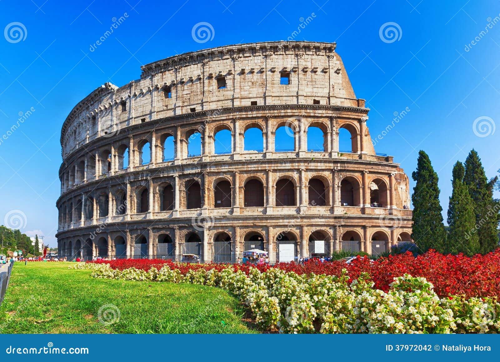 古老罗马斗兽场在罗马,意大利