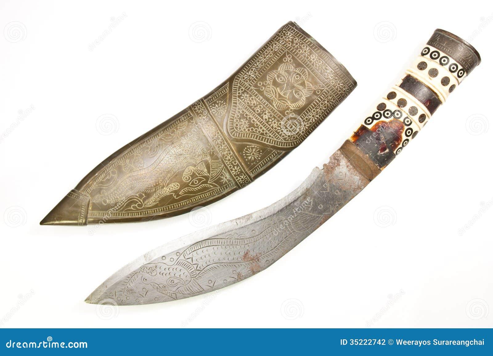 古色古香的刀子