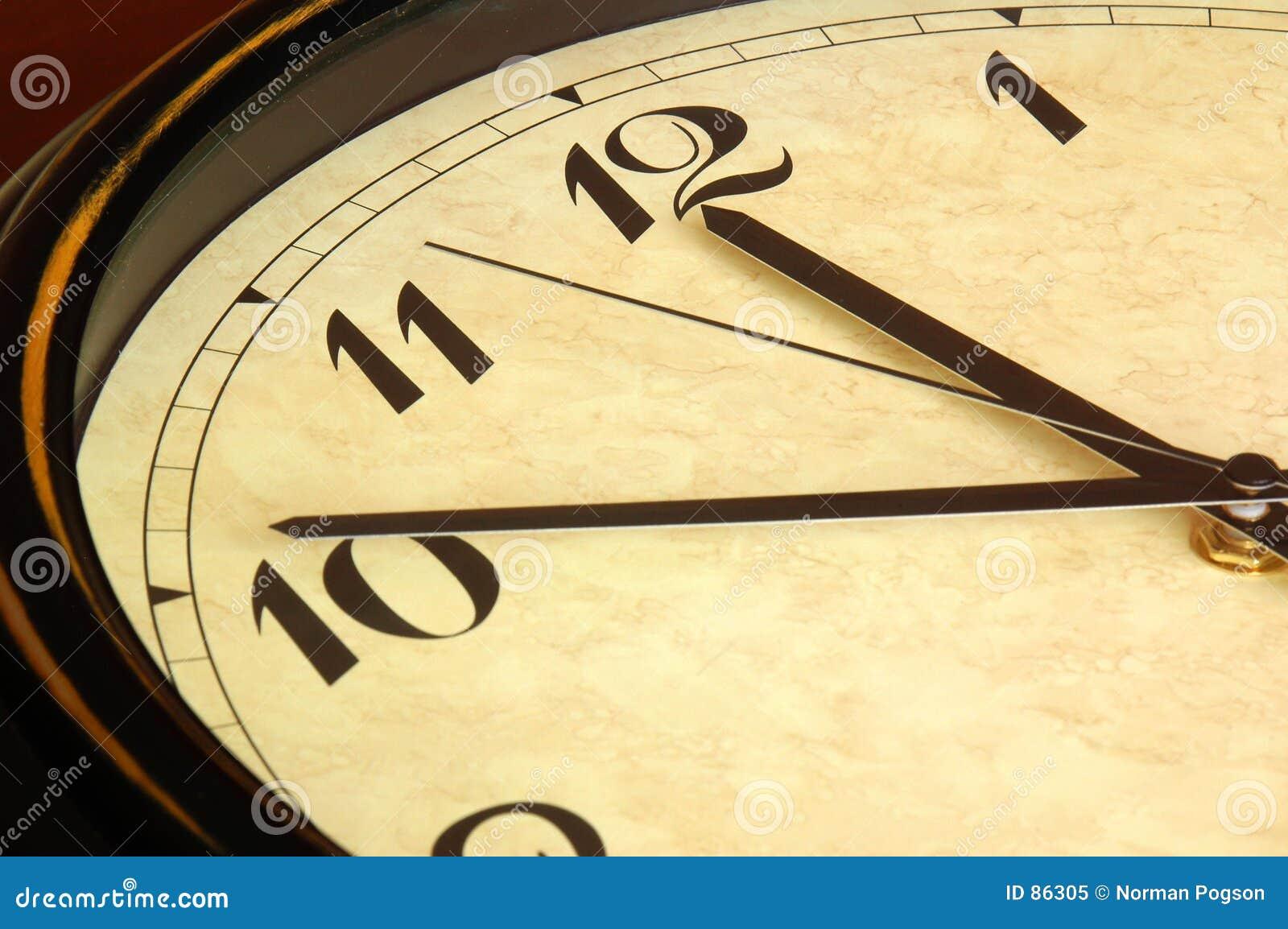 古色古香的时钟表盘