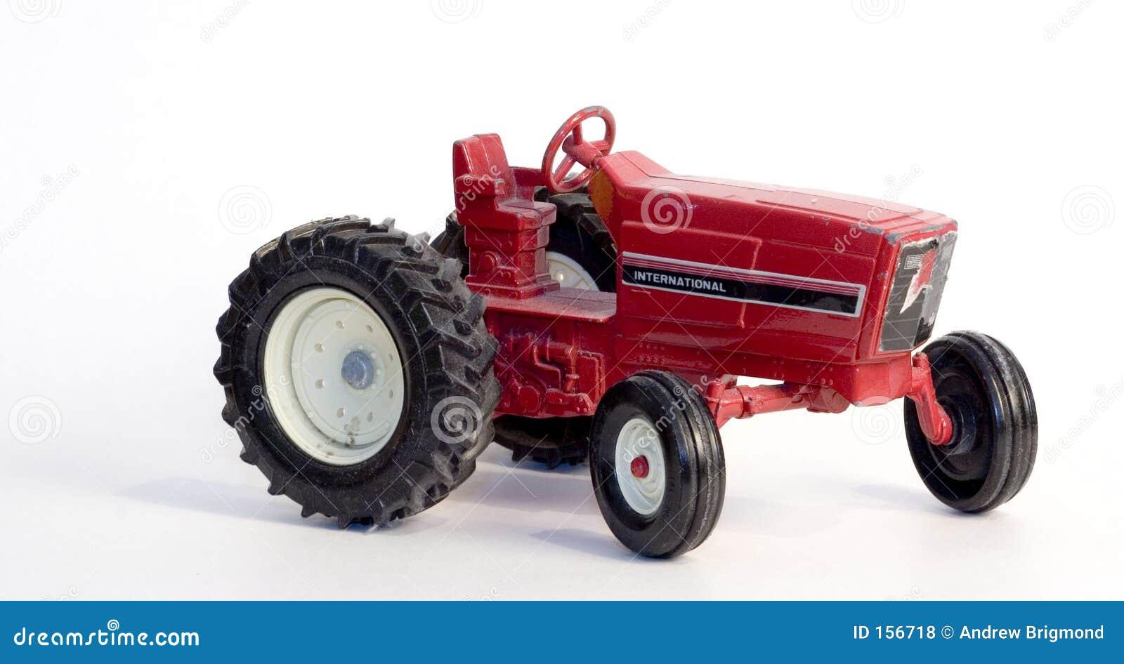 古色古香的玩具拖拉机