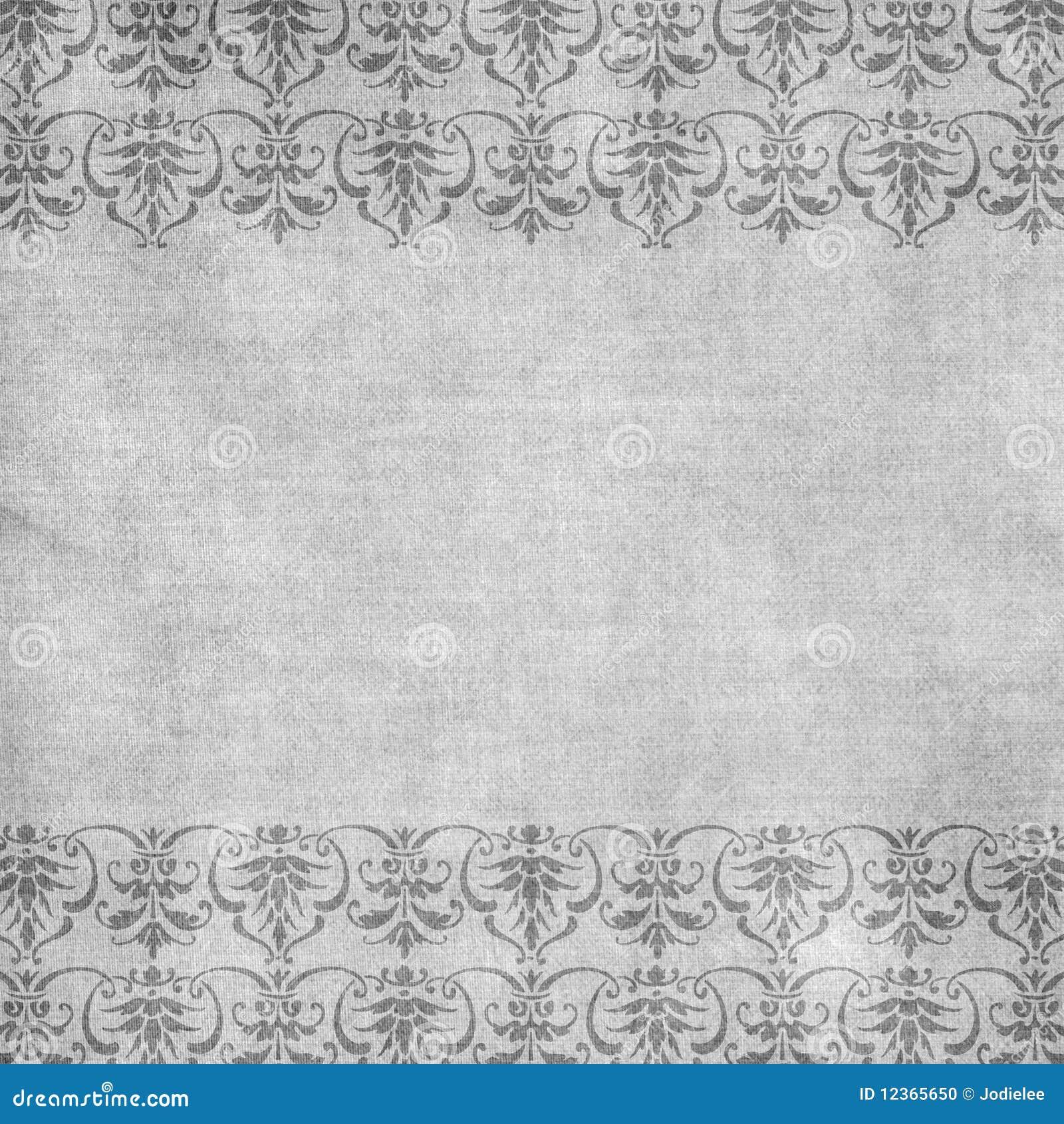古色古香的背景锦缎花卉灰色
