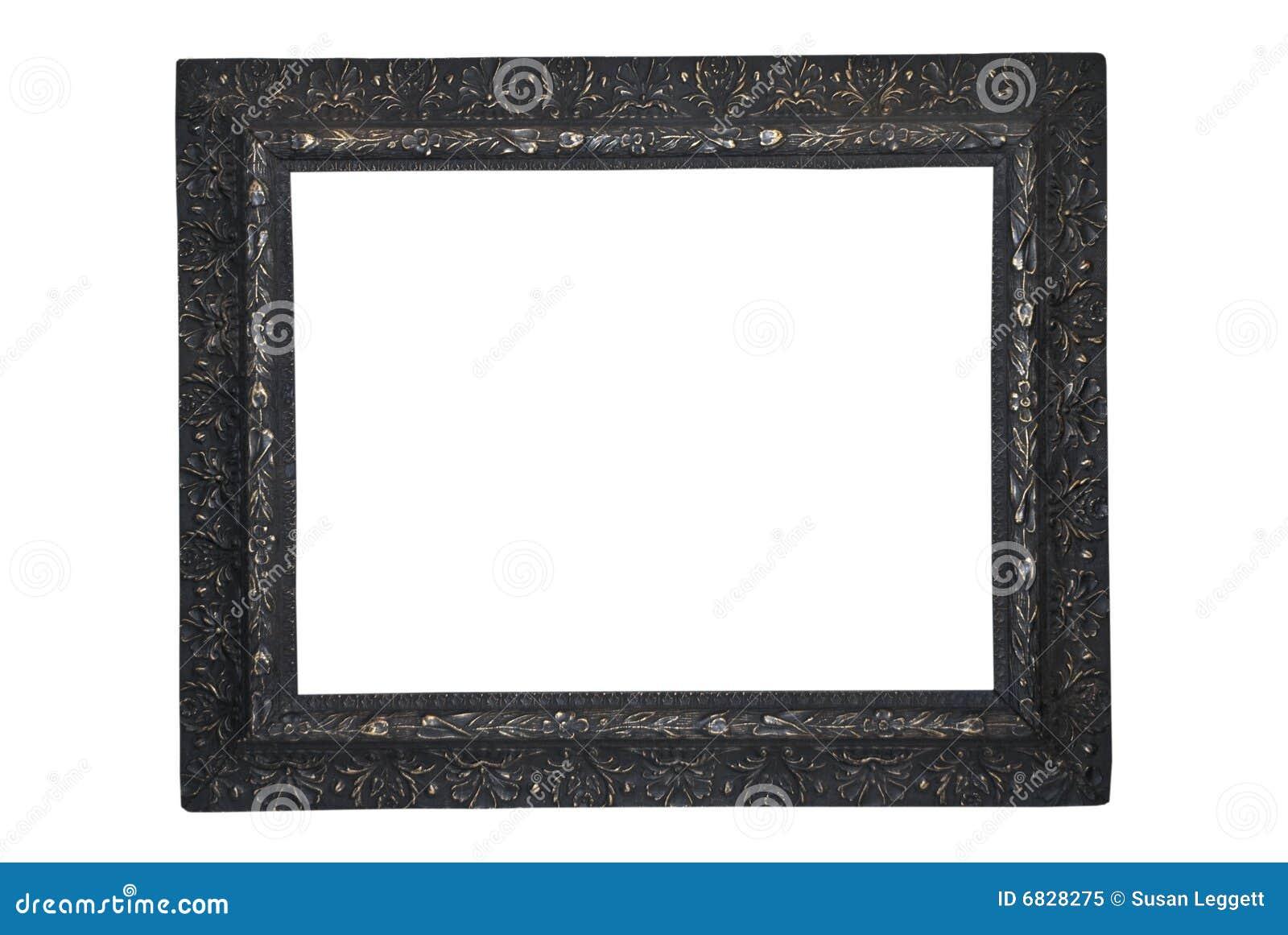 古色古香的黑色框架照片
