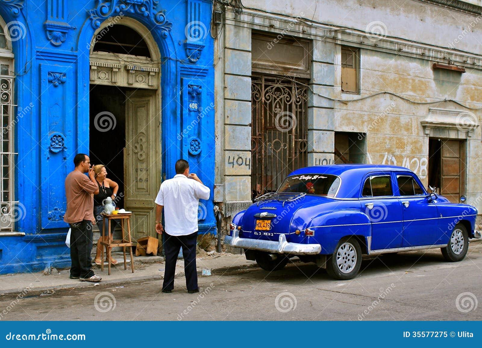 古巴街道生活