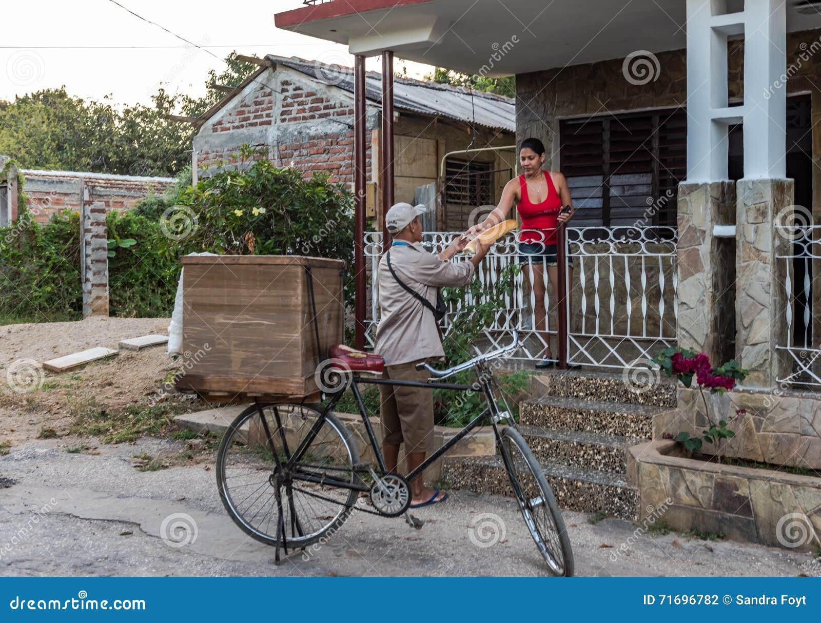 古巴面包送货人