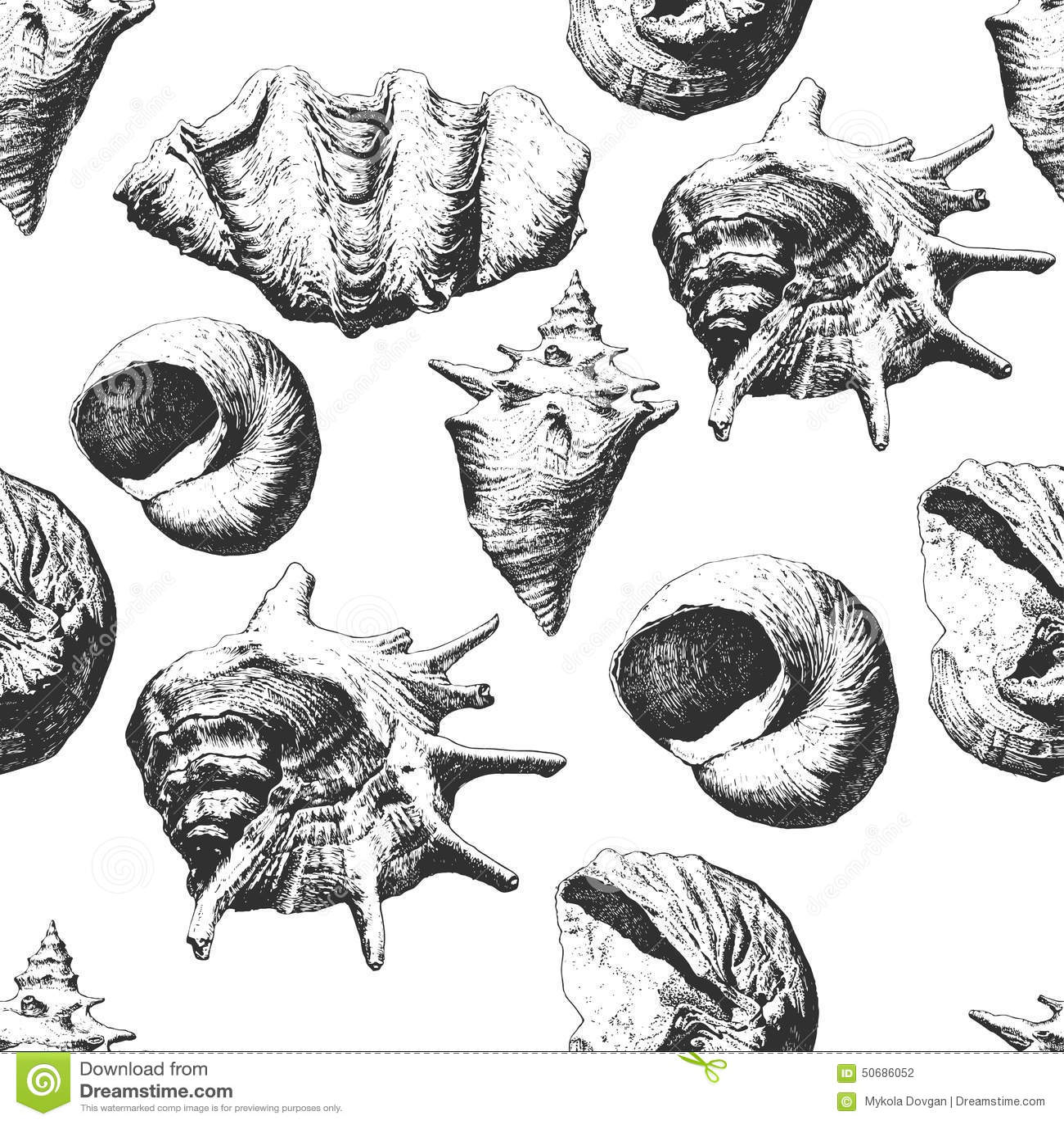 Download 另外模式无缝的壳 库存例证. 插画 包括有 珊瑚, 本质, 例证, 淡菜, 海洋, 海鲜, 潜水, 海运 - 50686052