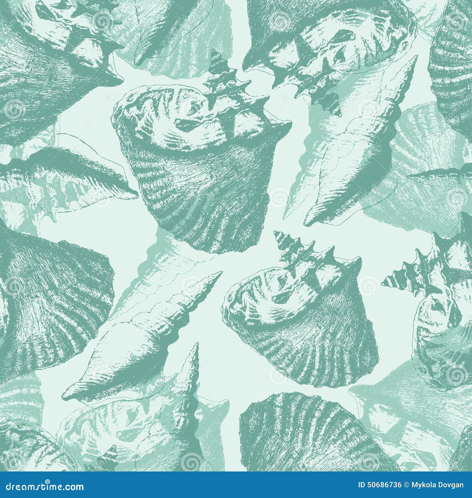 Download 另外模式无缝的壳 库存例证. 插画 包括有 海运, 线路, 水肺, 礁石, 图画, 收集, 海鲜, 典雅 - 50686736